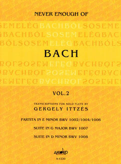Ittzes, G. - Never Enough of Bach Vol. II
