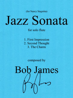James, B. - Jazz Sonata for solo flute