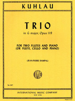 Kuhlau, F. - Trio in G major, Op. 119 - FLUTISTRY BOSTON
