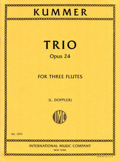 Kummer, K. - Trio in G major, Op. 24 - FLUTISTRY BOSTON