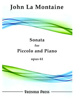 La Montaine, J. - Sonata for Piccolo and Piano, Op. 61 - FLUTISTRY BOSTON