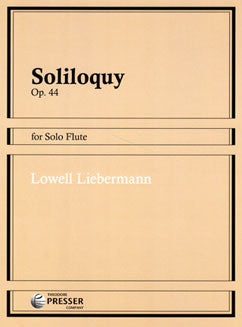 Liebermann, L. - Soliloquy - FLUTISTRY BOSTON