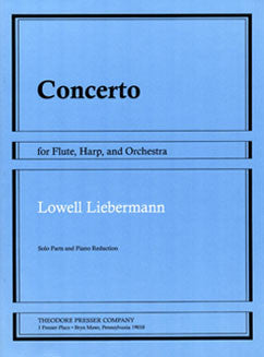 Liebermann, L. - Concerto - FLUTISTRY BOSTON