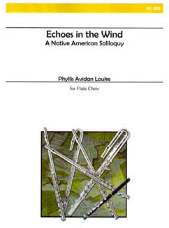 Louke, P. - Echoes in the Wind - FLUTISTRY BOSTON