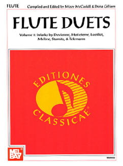 Gilliam/McCaskill - Flute Duets Vol 1 - FLUTISTRY BOSTON