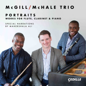 McGill/McHale Trio - Portraits CD - FLUTISTRY BOSTON