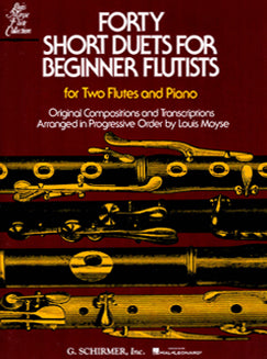 Moyse, L. - Forty Short Duets for Beginner Flutists - FLUTISTRY BOSTON