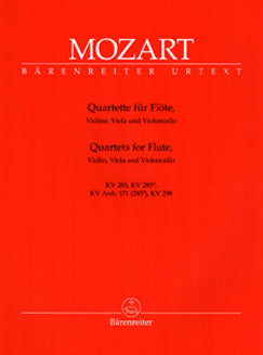 Mozart, W.A. - Quartets for Flute KV 285 - FLUTISTRY BOSTON