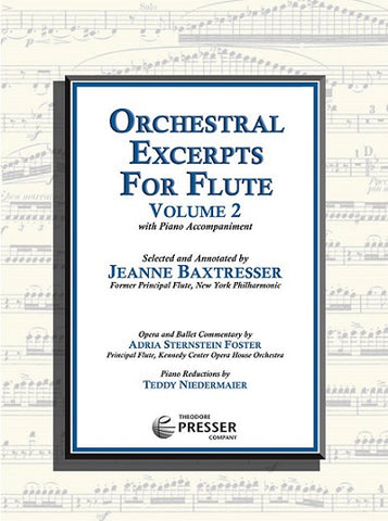 Orchestral Excerpts for Flute Vol. 2