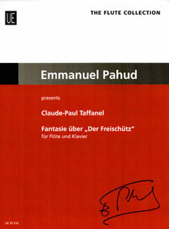 "Taffanel, P. - Fantasy on ""Der Freischutz"" - FLUTISTRY BOSTON"