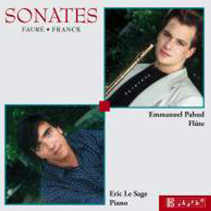 Sonates CD (Emmanuel Pahud) - FLUTISTRY BOSTON