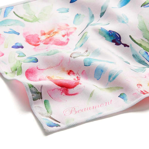Beaumont Large Microfibre Cloth- Painted Blooms