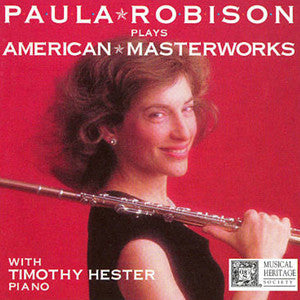 Paula Robison Plays American Masterworks CD - FLUTISTRY BOSTON