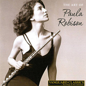 The Art of Paula Robison CD - FLUTISTRY BOSTON