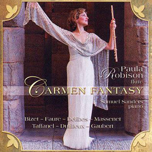 Carmen Fantasy CD (Paula Robison) - FLUTISTRY BOSTON