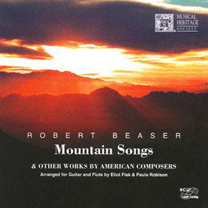 Mountain Songs CD (Paula Robison) - FLUTISTRY BOSTON