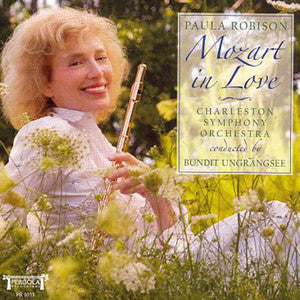 Mozart in Love CD (Paula Robison) - FLUTISTRY BOSTON