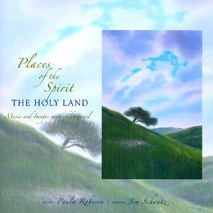 Places of the Spirit - The Holy Land Book & CD (Paula Robison) - FLUTISTRY BOSTON