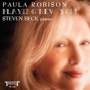Playing New York CD (Paula Robison) - FLUTISTRY BOSTON