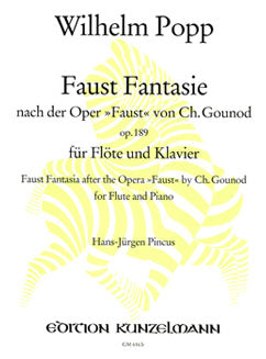 Popp, W. - Faust Fantasie - FLUTISTRY BOSTON