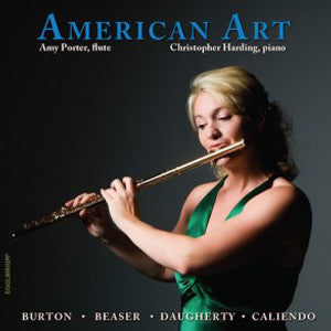 American Art CD (Amy Porter) - FLUTISTRY BOSTON