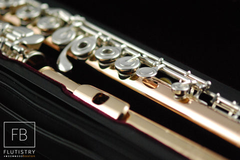 Powell Flute - 9k Gold/Silver - FLUTISTRY BOSTON