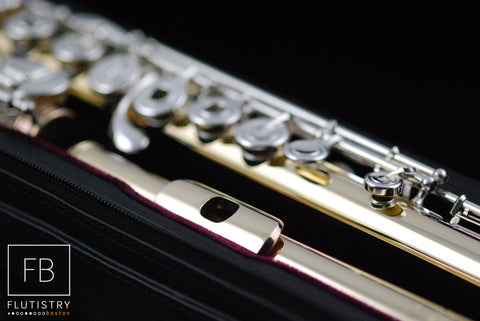 Powell Flute - 10k Gold/Silver