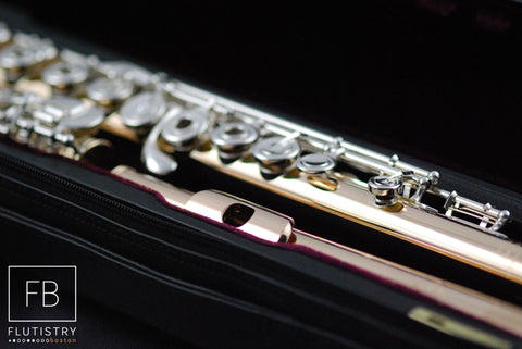 Powell Flute - 14k Gold/Silver - FLUTISTRY BOSTON