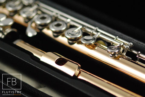 Powell Flute - 14k Gold - #5021 - FLUTISTRY BOSTON