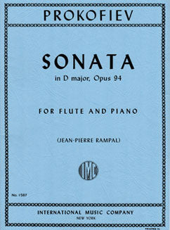 Prokofiev, S. - Sonata in D Major, Op. 94 - FLUTISTRY BOSTON