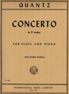 Quantz, J.J. - Concerto in D major - FLUTISTRY BOSTON