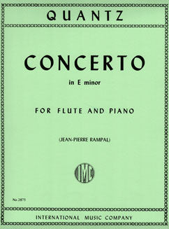 Quantz, J.J. - Concerto in E minor - FLUTISTRY BOSTON