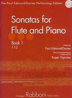 Rabboni, G. - Sonatas for flute and piano (Book 1)