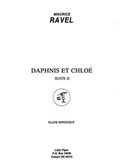 Ravel, M. - Daphnis and Chloe, Suite II - Flute III/Piccolo - FLUTISTRY BOSTON