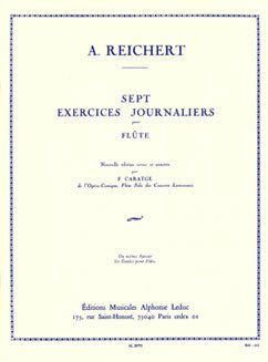 Reichert, M.A. - Seven Daily Exercises Op. 5 - FLUTISTRY BOSTON