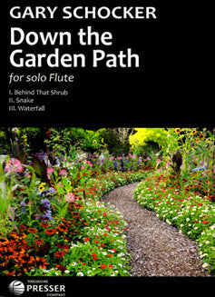 Schocker, G. - Down the Garden Path - FLUTISTRY BOSTON