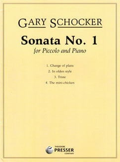 Schocker, G. - Sonata No. 1 for piccolo and piano - FLUTISTRY BOSTON