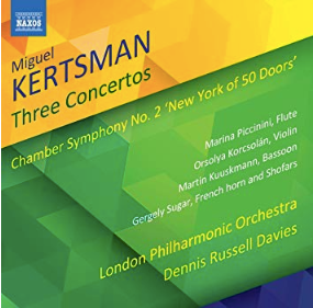 Kertsman Three Concertos CD (Marina Piccinini)