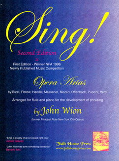 Sing! Opera Arias - FLUTISTRY BOSTON