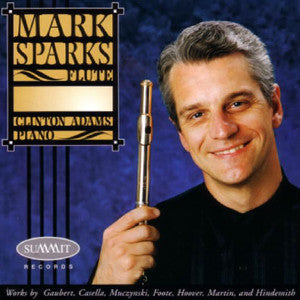 Mark Sparks, Clinton Adams CD (Mark Sparks) - FLUTISTRY BOSTON