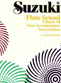 Suzuki Flute School - Vol. 10, Piano Part - FLUTISTRY BOSTON