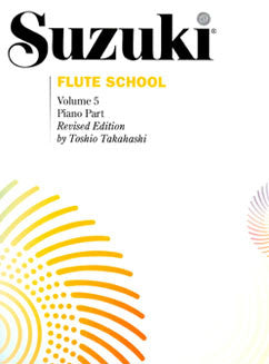 Suzuki Flute School - Vol. 5, Piano Part - FLUTISTRY BOSTON