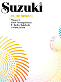 Suzuki Flute School - Vol. 8, Piano Part - FLUTISTRY BOSTON