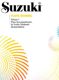 Suzuki Flute School - Vol. 7, Piano Part - FLUTISTRY BOSTON