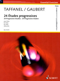 Taffanel/Gaubert -24 Études progressives - FLUTISTRY BOSTON