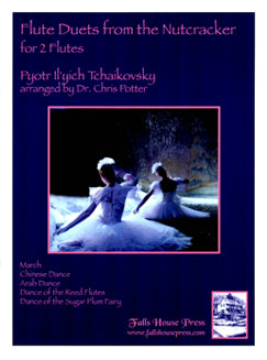 Tchaikovsky, P.I. - Flute Duets from the Nutcracker - FLUTISTRY BOSTON