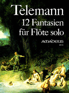 Telemann, G.P. - 12 Fantasies for Solo Flute - FLUTISTRY BOSTON