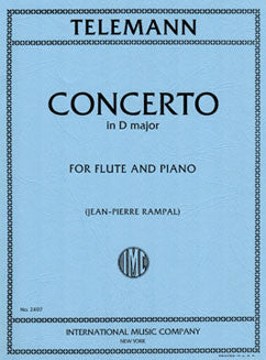 Telemann, G.P. - Concerto in D major - FLUTISTRY BOSTON