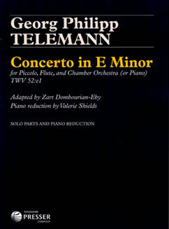 Telemann, G.P. - Concerto in E Minor