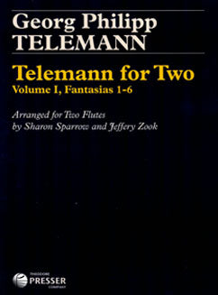 Telemann, G.P. - Telemann for Two, Vol. 1, Fantasias 1-6